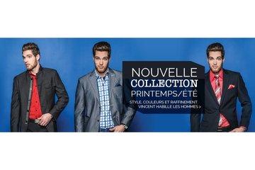 Boutique vêtements pour homme Vincent d'Amérique Brossard