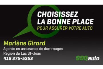 Marlène Girard, agente en assurance de dommages des particuliers affiliée à SSQauto