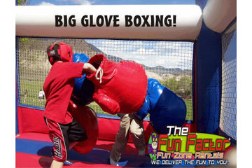 Fun Zone Party Rentals in Kamloops: Big Glove Boxing