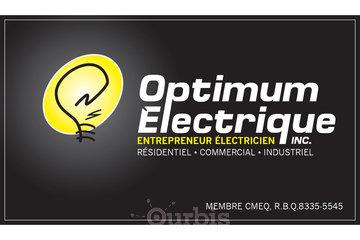 OPTIMUM ÉLECTRIQUE, entrepreneur électricien à Québec