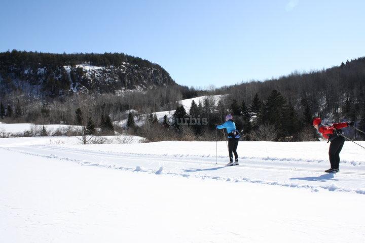 Ski montagne coup e st jean de matha qc ourbis - Montagne coupee ski de fond ...