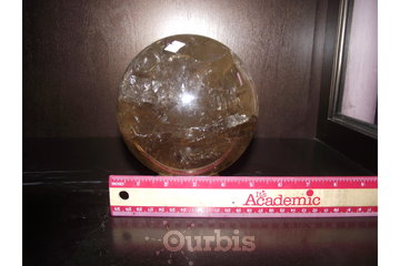 Shifting Sands Metaphysical in Winnipeg: citrine crystal ball