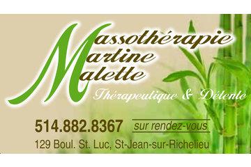 Massothérapie Martine Malette