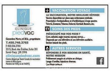 Clinique Vaccination Voyage Piedvac
