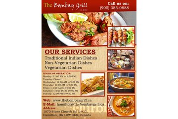 Vegetarian Catering Menu in Hamilton | The Bombay Grill