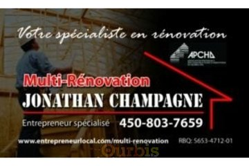 Multi-Rénovation Jonathan Champagne