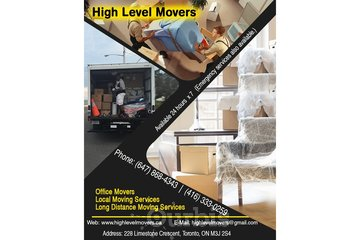 High Level Movers | Moving Toronto