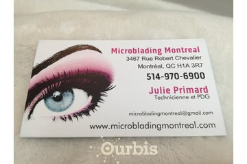 Microblading Montreal à Montreal: Microblading business card