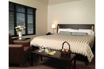 Hotel Le Rivage in Rosemère: chambre affaires
