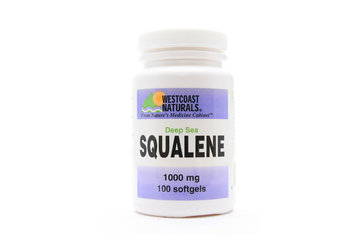 Westcoast Naturals in Richmond: Deep Sea Squalene 1000 mg 100 sftg