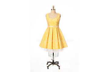 Zora L'Huppée robe de bal et robe de mariée Québec à Québec: Robe de bal courte