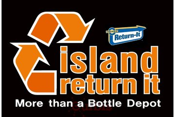 Island Return It Recycling Centre Duncan in Duncan: Island Return it Recycling Centre much more than a bottle depot logo