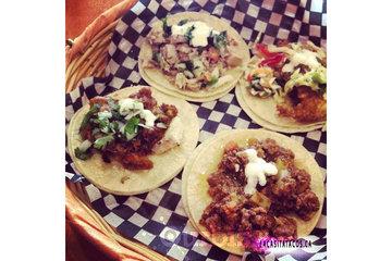 La Casita Tacos in Vancouver: I got the Baja fish, carnitas, beef Piccadillo and Veracruz fish tacos in Vancouver BC