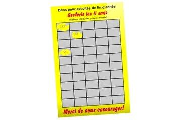 Cartes Gratteux (cartes à gratter) à Laval