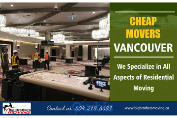 BIG BROTHERS MOVING SERVICES INCORPORATED in NORTH VANCOUVER
