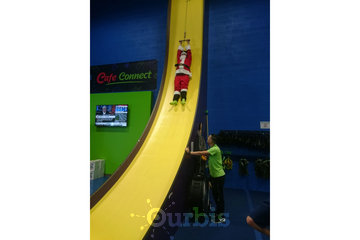 Air Riderz Trampoline Park in Mississauga: Giant Slide