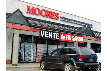 Moores Clothing for Men - Closed