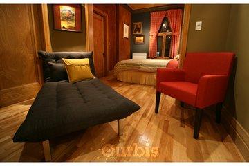 A la Carte B & B à Montréal: Juillard Suite, sitting area