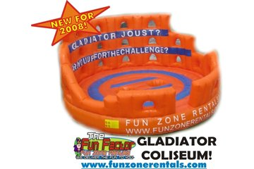 Fun Zone Party Rentals in Kamloops: Gladiator Joust!