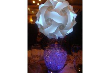 Fleur d'Orchidée à Laval: Un centre de table unique et original recyclable