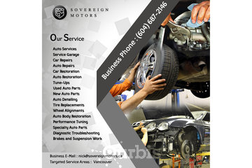 Sovereign Motors Inc |  Range Rover Repairs Vancouver