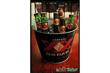 La Casita Tacos in Vancouver: Cheap buckets of beer at La Casita Tacos in West End Vancouver BC