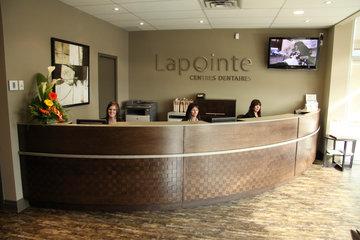 Centres dentaires Lapointe à Saint-Hyacinthe: Réception de la clinique