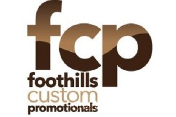 Foothills Custom Promotionals in High River: FCP Logo