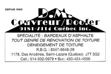 DM Couvreur (9181-7114 Québec Inc.)