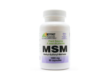 Westcoast Naturals in Richmond: MSM (Plant Source) 1000 mg 50 caps