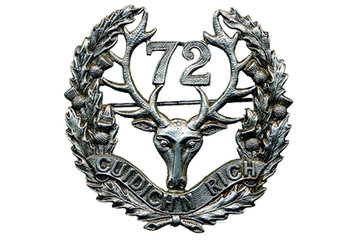 Army Cadet Corps-72nd Seaforth Highlanders in Vancouver: 72nd Royal Canadian Army Cadet Seaforth Highlanders of Canada cap badge logo