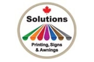 solutions printing, signs and awnings in Burnaby