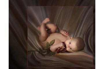 """Studio de Photographie Stéphane Larivière à Rigaud: Un bébé """"Une rose pour Émilie"""""""