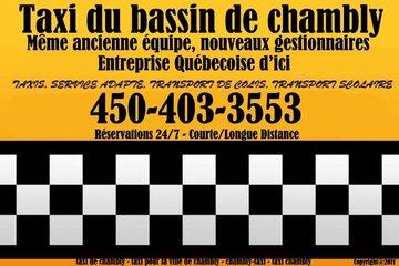Taxi Bassin de Chambly