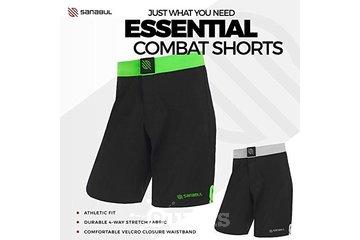 Sanabul Canada in BURNABY: Sanabul Essential MMA BJJ Cross Fit Workout Shorts