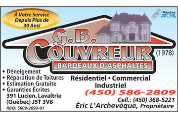G B Couvreur (1978) inc