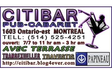 Citibar in Montréal: carte d affaire  citibar