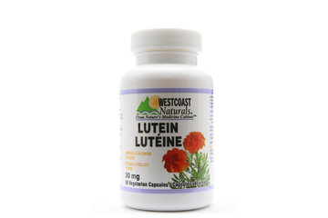 Westcoast Naturals in Richmond: Lutein 30 mg 60 vcaps