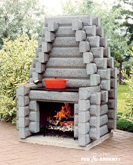 Foyer Extérieur Brique Plan : Les foyers feu ardent inc saint nicolas qc ourbis
