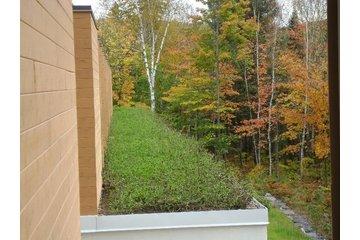 Irriglobe à Montréal: Toit vert