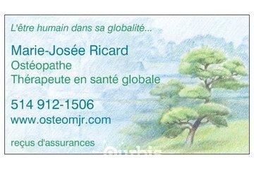 Marie-Josée Ricard Ostéopathe D.O.