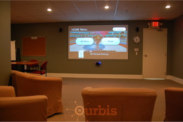 Cavell Gardens in Vancouver: Media Room 1