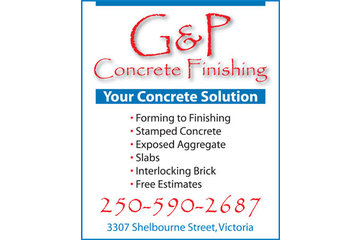 G & P Concrete Finishing