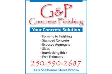 G & P Concrete Finishing