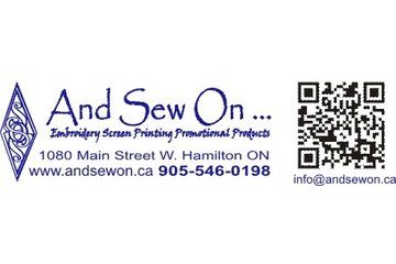 And Sew On Embroidery & Imprint Inc