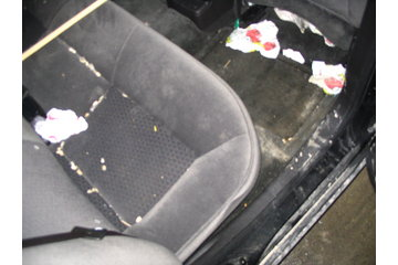 A and A Detailing in Lindsay: dirty!! interior of impala,