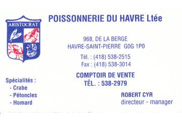 Poissonnerie du Havre Ltee in Havre-Saint-Pierre