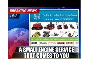 ON THE RUN MOBILE SMALL ENGINE REPAIR SERVICE
