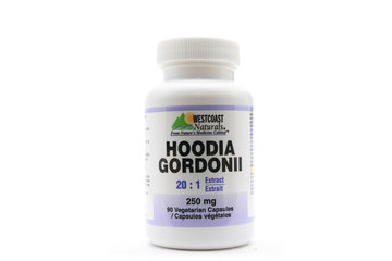 Westcoast Naturals in Richmond: Hoodia Gordonii 250 mg 90 vcaps