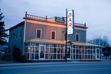 Bar Mon Repos à Chambly: Facade du Bar Môtel Mon Repos